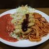 Karukatsuta - 料理写真:トルコライス大盛りカレー辛口(750円)