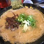 豚骨ラーメン 三福 - 12分かかるラーメン