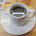 野反峠休憩舎 - ホットコーヒー