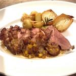 ワイン食堂 がっと - 仏産カモ胸肉のソテー
