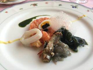 ル・クープル - 前菜 サーモンのタルタル