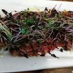 HITSUJI - 牛もも肉のカルパッチョ