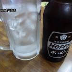 三福 - ホッピー白 450円、なか250円