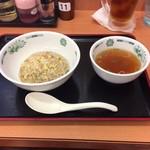 71238457 - 半チャーハン250円 スープ付!