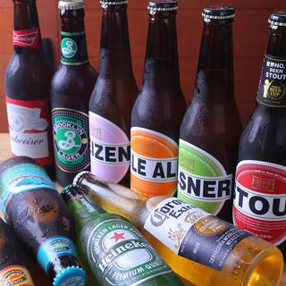 デザートドリンクから箕面ビールまで多彩なラインナップ♪