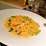 グラッツェ ミッレ - Pasta 紅ズワイ蟹のトマトクリームソース