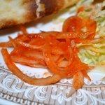 インドレストラン モティ - 玉葱のアチャール