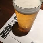 個室居酒屋 番屋 - ビール