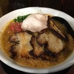 71241724 - 男のエビ味噌らーめん(麺大盛)(¥853)