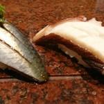 鮨 奥呂木 - 料理写真:イワシとタコ