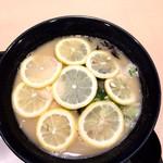 壽 - 沢山のレモンの輪切