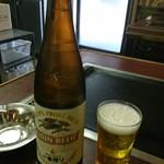 だるまや - 瓶ビール(o^-')b !