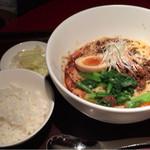 71243121 - 冷やし坦々麺セット 1500円