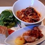 イタリア厨房 KUNISHIMA - サラダ・メイン・パスタ