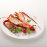 メインダイニング シーホース - 伊勢海老温製サラダ仕立て