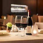 メインダイニング シーホース - お料理に合わせてワインをご用意するワインペアリングもございます