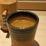 中目黒いぐち 上ル - 8時間かけて取った贅沢鶏スープ