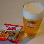 キリンビール - ドリンク写真:一番搾り