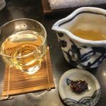 71245919 - 竹鶴と蕎麦味噌