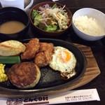 シェボーヌ - 料理写真:お腹いっぱい
