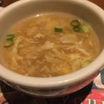 ブロンコビリー - スープは味が良かった。 飲み放題で無いけれど…クオリティは良いです。
