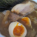 ラーメン サンガ - 鰹豚麺海苔トッピング