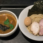 煮干し中華そば一燈 - 2017.8 特製濃厚煮干しつけ麺(1,000円)