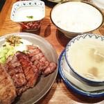 71247782 - しお牛タン厚焼定食