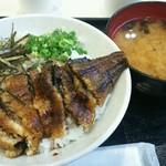 牧原鮮魚店 - 鰻まぶし丼