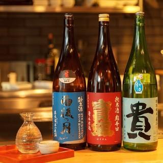 ◆鉄板料理×日本酒が旨い!