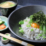 東道後のそらともり - 愛媛県産しらす丼