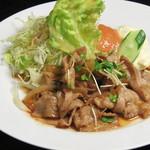 東道後のそらともり - 豚の生姜焼き(定食・単品あり)