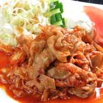 東道後のそらともり - 豚キムチ(定食・単品あり)