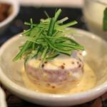太門 - 前菜の名古屋コーチンの棒棒鶏