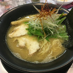 鶏冠 - 鶏白湯ラーメン