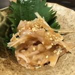 博多かわ屋 - 【2017.7.5】梅水晶¥490