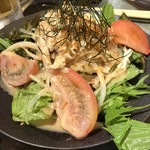 博多かわ屋 - 【2017.7.5】かわ屋サラダ¥560