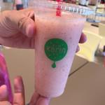 果汁工房 果琳 - ドリンク写真:とろける桃のスムージー