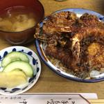 天ぷら 中山 - 天丼(1100円)