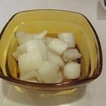 みぼうじんカレー - 淡路島産の玉ねぎのピクルス