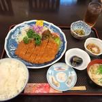 Dining 花 - SPF最上川ポーク上ロースかつ定食1500円