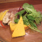 オステリア レガーロ - 前菜、サラダ