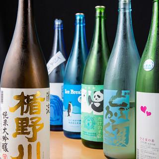 全国各地の日本酒が選べる飲み放題プランがお得!!