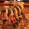 柳家 - 料理写真:長良川の天然鮎の塩焼き