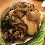 入船寿司 - 料理写真:鮑のバター焼き