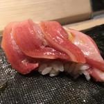 第三春美鮨 - シビマグロ 118.6kg 腹上二番 大トロ 熟成2日 延縄漁 北海道戸井 徳栄丸
