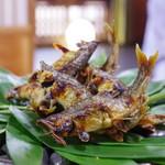Mikadoya - 料理写真:鮎の塩焼き