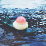 京の麩菓子屋 ゆふころろ - 【夏季限定】雫麩饅頭(しずくふまんじゅう) 桃の雫