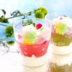 京の麩菓子屋 ゆふころろ - 【夏季限定】氷麩水シリーズ 桃の潤麩(うるふ)/玉露の潤麩