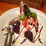 パスタビーノ・ハシヤ - ('11/3)会員になっておくと、こんなバースデーケーキも